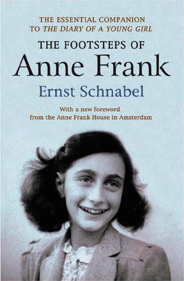 The Footsteps of Anne Frank by Ernst Schnabel - Jacket Image